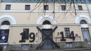 """Utställningen """"1914"""" på Nationalmuseet för konst i Riga"""