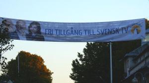 Valaffisch i Mariehamn.