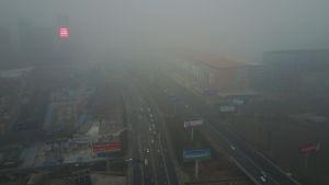 Smog är vardag i kinesiska storstäder