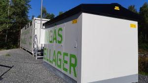 Reservbatteriet i Ingå.