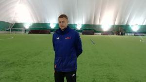 Christoffer Kloo, Sportchef vid Wasa Fotbollsakademi.