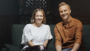 Sonja Kailassaari och Janne Grönroos.
