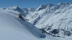Snowboardåkaren Mikaela Hollsten