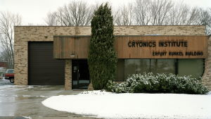 Cryonics Institute i Michigan, USA.