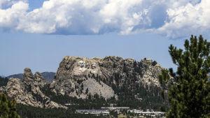 Monumentet Mount Rushmore i South Dakota, USA.