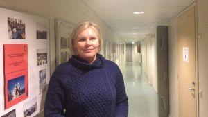 Stina Ahlmark, lärare i hälsokunskap på Vasa övningsskola.