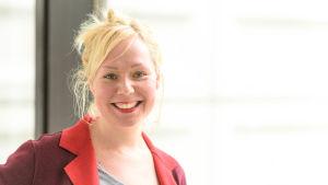 Anne Nickström är bloggare.