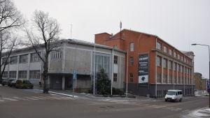 Fixhuset i Ekenäs där det numera finns en hel del företagare.