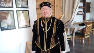 Ekenäsguiden Anne Ingman som Katarina Jagellonica