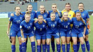 Finlands U17-flicklandsag i fotboll.