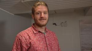 Matti Tuomaala, ordförande för Vasa miljöförening