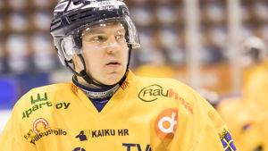 Teemu Ramstedt spelade för Lukko säsongen 2017-2018.