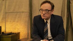 I serien Chernobyl ser vi Jared Harris i rollen som Valery Legasov, han som ledde kommission som undersökte olyckan.