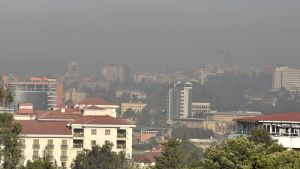Smog i Addis Abbeba 15.10.2019