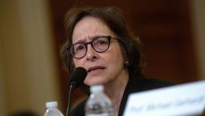 Juridikprofessor Pamela Karlan i kongressförhör den 4 december 2019.