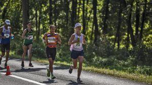 Noora Honkala i 100 km VM-tävlingar i kroatiska Sveti na mura.