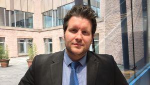 Professor Joachim Koops från Versalius College, Bryssel.