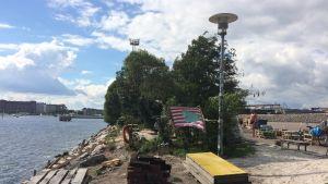 Sompasauna i Helsingfors