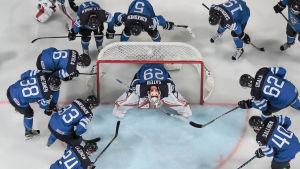 Finland inför match, VM 2017.