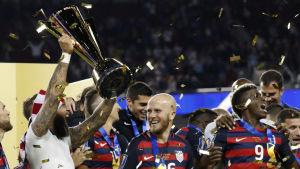 USA vann Gold Cup i fotboll år 2017.