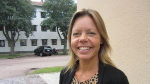Janina Björni från Rädda barnen på Åland.