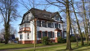 Den forna kommendörsvillan i Lockstedter Lager