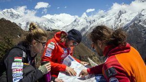 Vandrare på Mount Everest