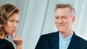Sonja Kailassaari och Mårten Svartström