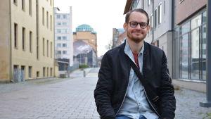 Musikern Jerry Lindqvist.