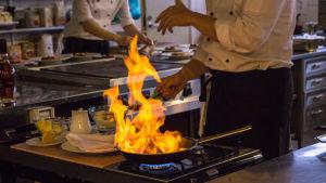 bild på matlagning