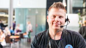 """Anders """"Ankka"""" Alanen på BUU-dagen 2018."""