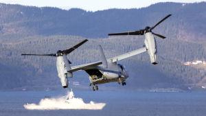 Natos stora militärövning Trident Juncture hölls i Norge i oktober och november i fjol