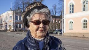 Eläkeläinen / Inga Johansson / kelataksi / Loviisa 21.02.2019