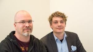 Otto Andersson och Daniel Hannus