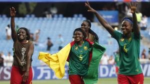 Kamerun firar.