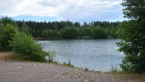 Badstranden i Störsvik.