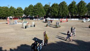 Hangö SeaHorse Week ordnas på idrottsplanen i Hangö centrum.