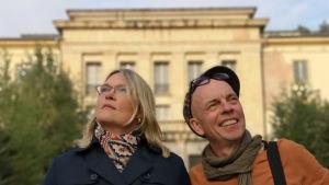 Kirsi Marie Liimatainen ja Marko Gustafsson.