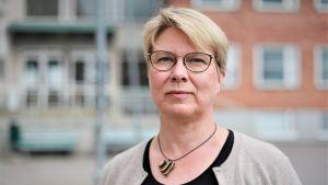 Sari Hildén, som är förvaltningschef för byggd egendom vid Helsingfors stad.