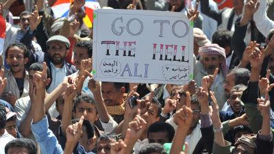 Fortsatt protest efter val i kuwait
