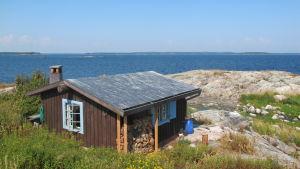 Tove Janssons och Tuulikki Pietiläs sommarhus på Klovharun