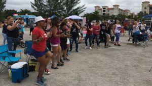 Salsadansande puerto ricaner