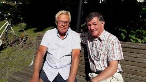 Roland Backman och Sture Borgar.