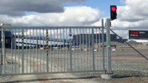 Porten till Pajala gruva