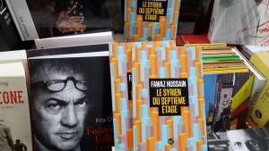 Fransk-syrisk-svenske författaren Fawaz Hussais tionde bok