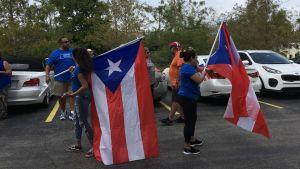 Puerto ricaner redo för mellanårsval i USA