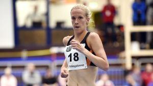 Camilla Richardsson löper