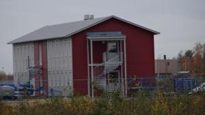 Fennovoima bygger tjugoett modulhus för arbetarna.