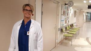 Överläkare Charlotta Frostdahl
