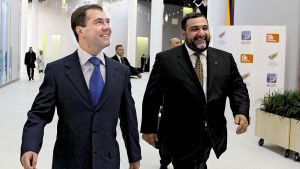 Dmitri Medvedev ja Ruben Vardanian